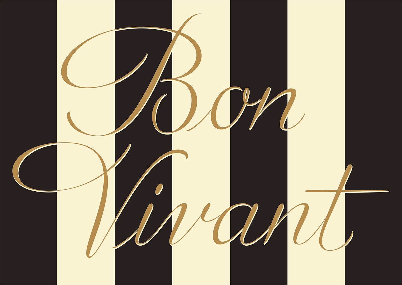 French Lettering