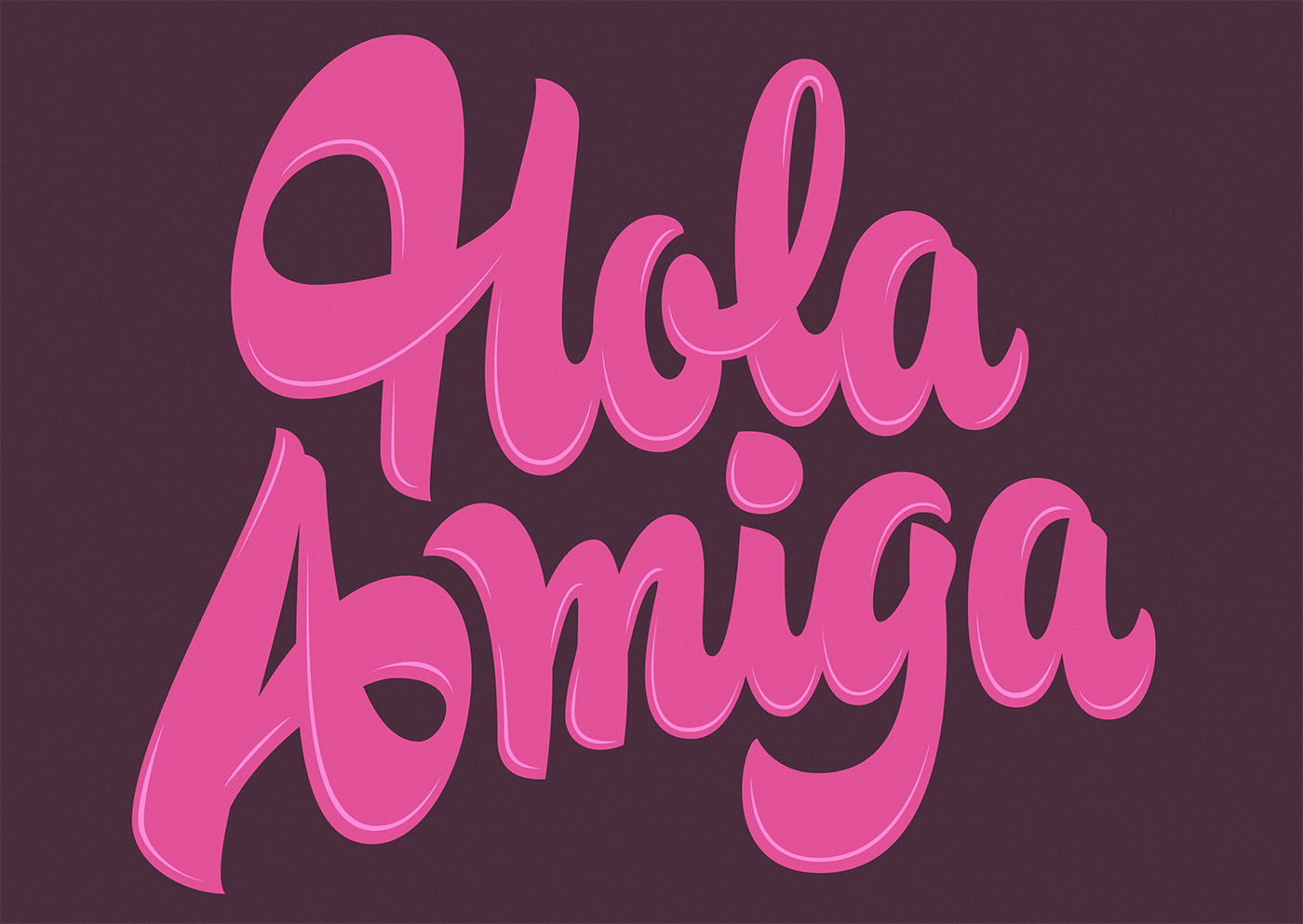 Chubby Lettering