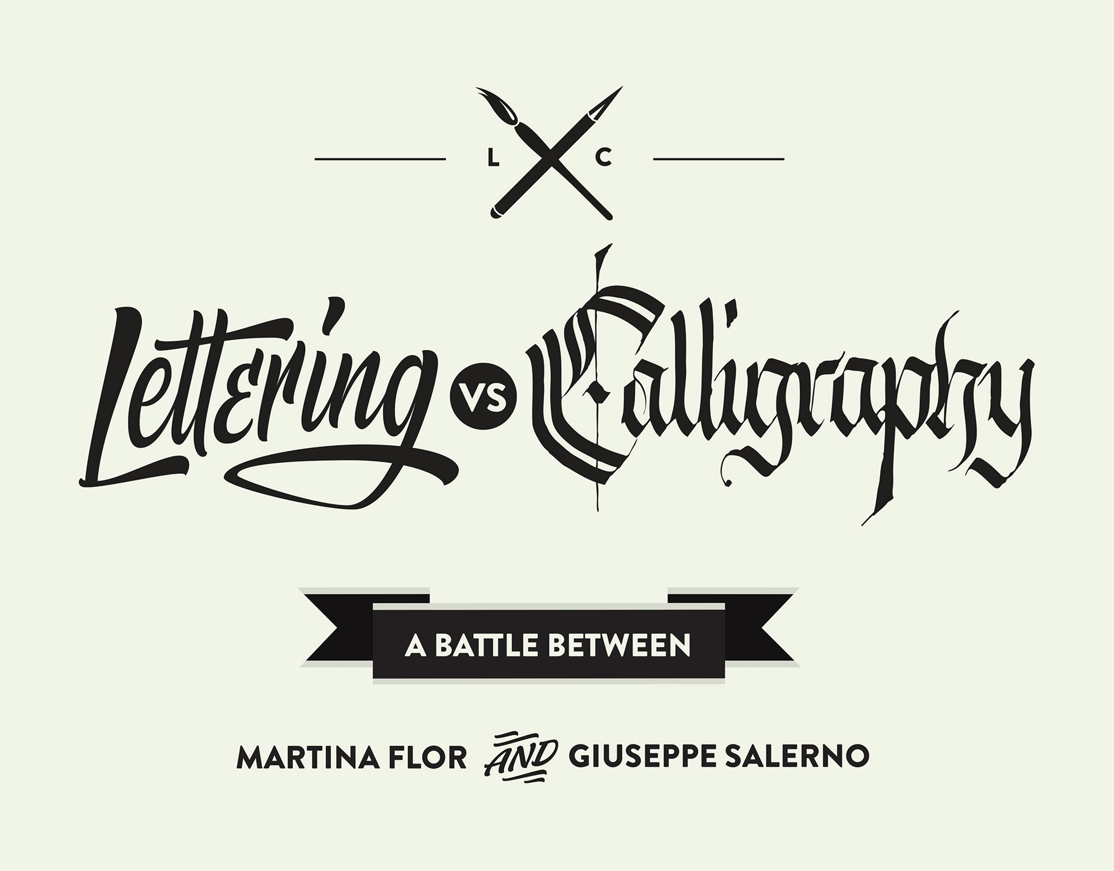 Lettering vs Calligraphy — Studio Martina Flor